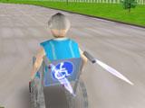 3D Wheelchair Race