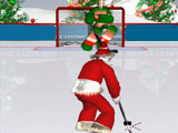 Santas hockey shootout