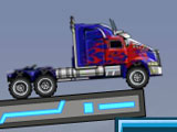 Optimus Crossing Bridge