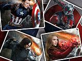 Captain America Civil War Jigsaw