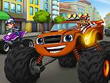 Blaze Monster Truck Find Objects