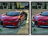 Bugatti Chiron Differences
