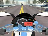 Highway Speed Moto Bike Driver