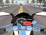 Highway Speed Moto Bike Driver