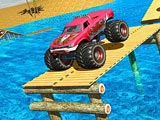 Monster Truck Water Surfing: Truck Racing